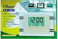 Многофункциональные часы с градусником Kenko KK-6869