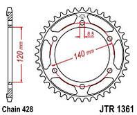 Звезда задняя HONDA XLR 250 - JTR1361.50 / JTR136150