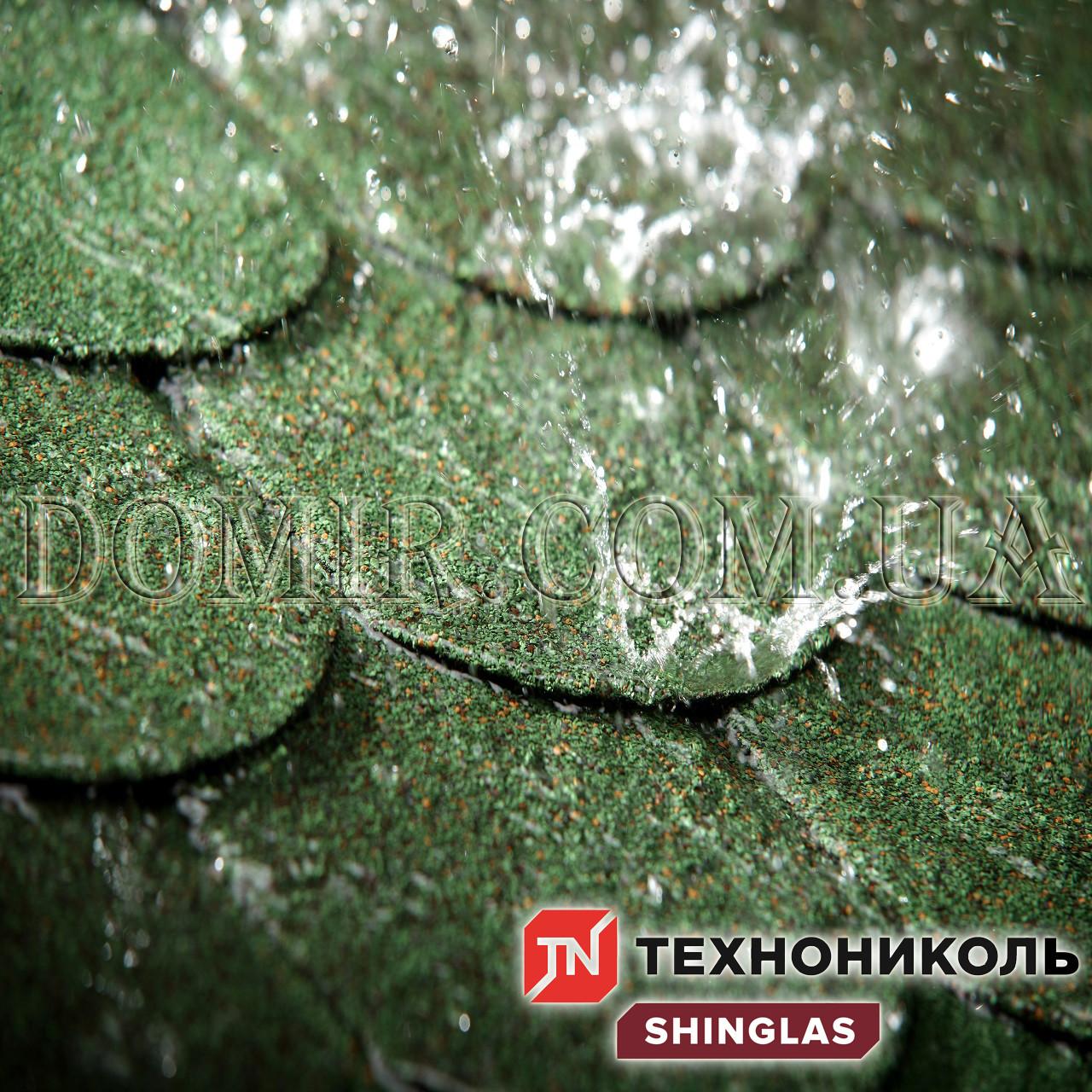 Бітумна черепиця Shinglas (Техноніколь)