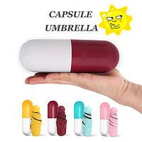 Мини зонт с чехлом Капсула.