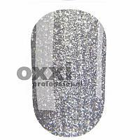 Гель-лак Oxxi 10 мл №198 серебристый с насыщенными блестками
