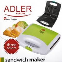 Сэндвичница Adler AD 3020 green