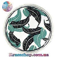 Пляжный коврик Пальмовые листья