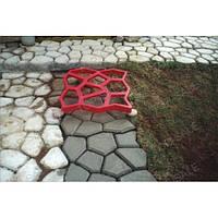 Форма пластиковая для тротуарных дорожек, форма для плитки, тротуарная плитка