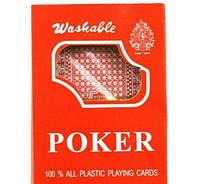 Пластиковые карты poker №395-3