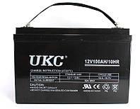 Аккумулятор BATTERY GEL 12V 100A UKC, аккумуляторная батарея, свинцово кислотный аккумулятор 12V