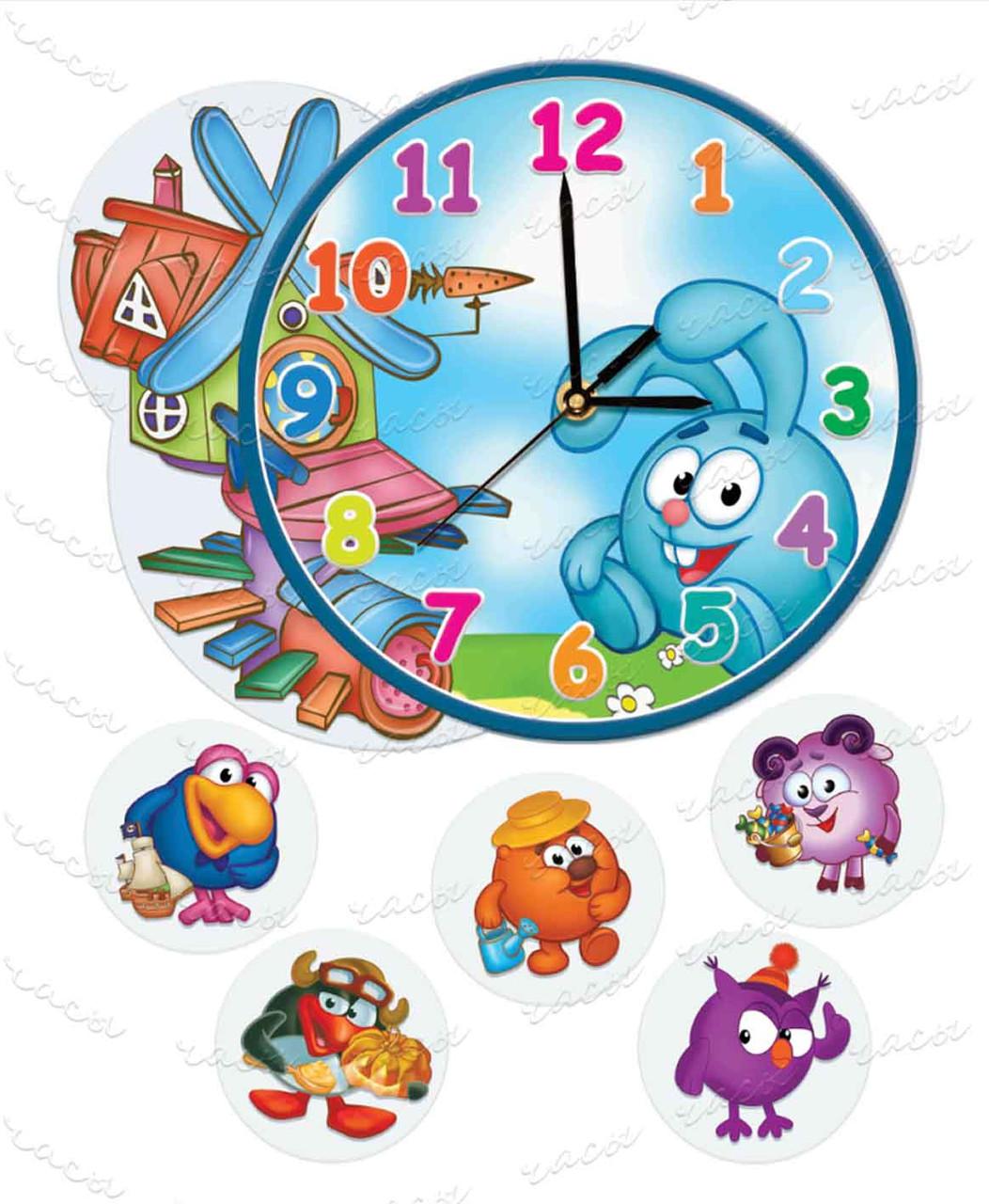 Часы детские мультяшки