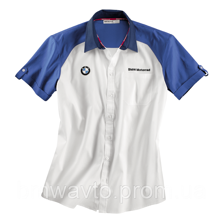 Мужская рубашка BMW Motorrad Logo Short-Sleeved Shirt, Men