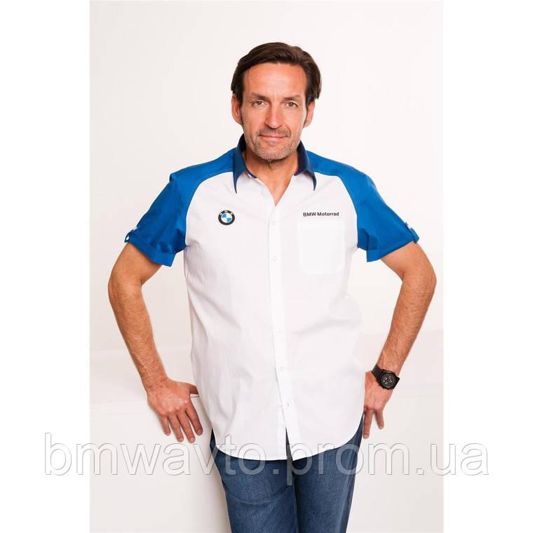 Мужская рубашка BMW Motorrad Logo Short-Sleeved Shirt, Men, фото 2