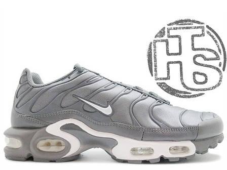 Мужские кроссовки реплика Nike Air Max TN Plus Cool Grey, фото 2