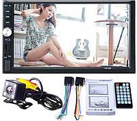 """Автомагнитола 2Din Pioneer 7012B с Экраном 7"""" дюймов сенсор + USB, SD, FM, Bt+КАМЕРА!"""
