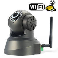 Беспроводная поворотная IP камера WiFi microSD TF, уличная камера, камера видеонаблюдения, камера онлайн