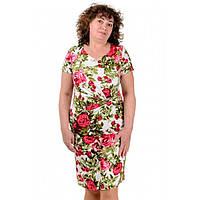Жіноче лляне плаття літнє Вікторія, фото 1