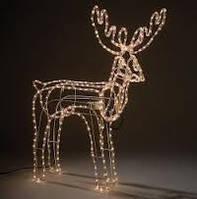 Новогодний олень светодиодный (поворачивает голову) / новорічний олень світлодіодний (обертає голову)