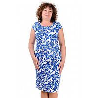 Женское льняное платье летнее Мирослава Батал