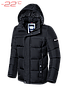 Куртка мужская до -22 Braggart Dress Code, черный, р. M,L,XL,XXL,3XL