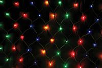 Новогодняя гирлянда, Гирлянда светодиодная Сетка L2240 мульти