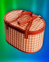 Сумка-корзина складная бамбуковая (М-4)