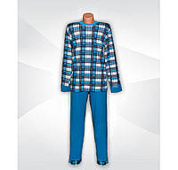 Уценка! Пижама мужская трикотажная легкая 03214, хлопок, р.р.44-46