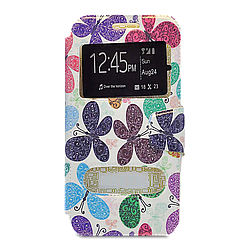 Чехол книжка Book Cover Samsung J7-2016/J710 Butterfly
