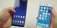 Краш-тест Samsung S8 vs iPhone 7