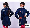 Модный весенний плащ для девочки с капюшоном, фото 4