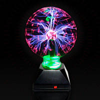 Плазменный шар Plasma ball 7?, плазменный шар с молниями, Tesla плазма ночник, лампа плазменный шар