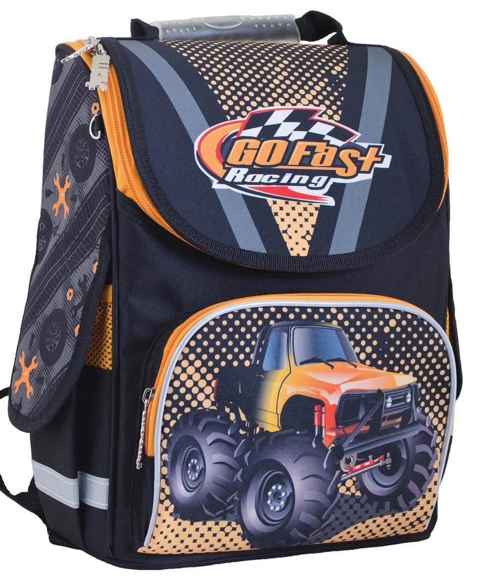 """Школьный рюкзак для мальчика """"Smart"""" PG-11 Go fast"""