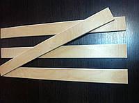 Ламели буковые 700мм ( 53мм*8мм ) 1сорт бук, фото 1