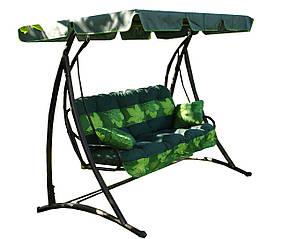 Подушка для садовой качели 135 см. + крыша
