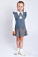 Жилет школьный для девочки, школьная форма жилет для девочек, жилет на девочку для школы
