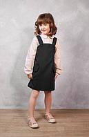 Школьный сарафан на девочку, платье в школу, сарафан школьный, школьная форма, стильный сарафан