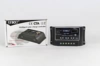 Контроллер заряда для солнечных установок Solar controler 30A, контроллер заряда солнечных батарей
