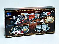 Железная дорога Классическая HX2011-01, детская железная дорога, железная дорога игрушка для детей