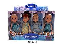Набор кукл FROZEN DOLL, куклы холодное сердце, 4 куклы игрушки, куклы для девочки, набор кукол frozen