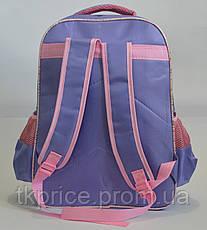 Школьный рюкзак для девочки сиреневый, фото 3