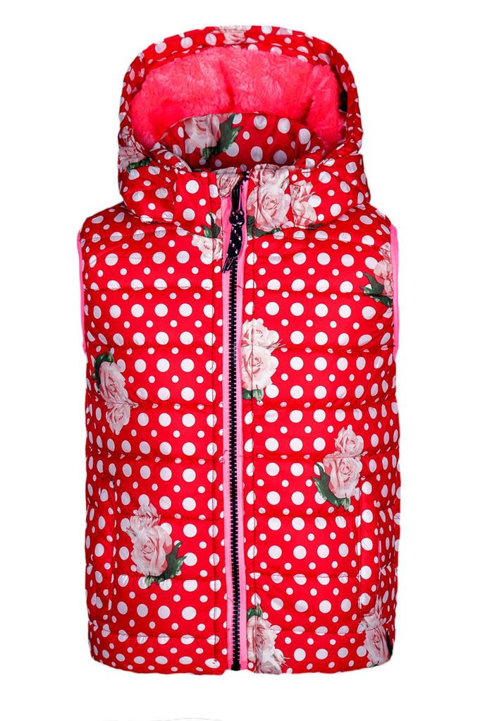 Детская жилетка для девочек Grace, Венгрия, размер 98-128