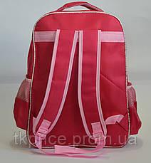 Школьный рюкзак для девочки красный, фото 3