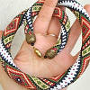 Концевики и колпачки для шнуров и бисерных жгутов