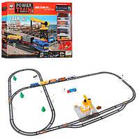 Детская игрушечная железная дорога 2082, 145-110 см. (дл670см)