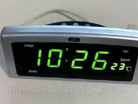 """Часы CX 818 (red, green), электронные часы, настольные часы с подсветкой, Led часы, часы от сети!Опт - Магазин """"Успей Купить"""" в Одесской области"""