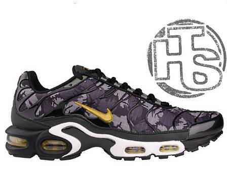 Мужские кроссовки реплика Nike Air Max TN Plus Black/Grey Camo Yellow 647315-080, фото 2