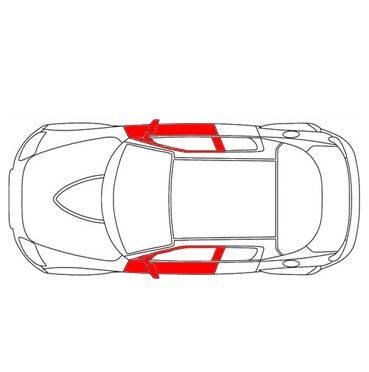 Ремкомплект внутрішньої ручки дверей Seat Ibiza, cordoba 6k для правої передньої лівої двері (Сеат Ібіца Кордоба), фото 2
