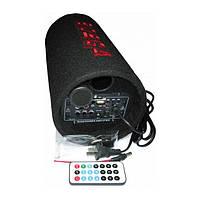 Сабвуфер Bosca 5 активный, USB , пульт ДУ , чистый звук  авто колонка