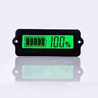Индикатор уровня заряда аккумулятора ЖКИ, 12-63в Зеленый