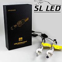 Комплект LED ламп в головной свет серии SLP70 Цоколь H7, 48W, 6600 Люмен/Комплект