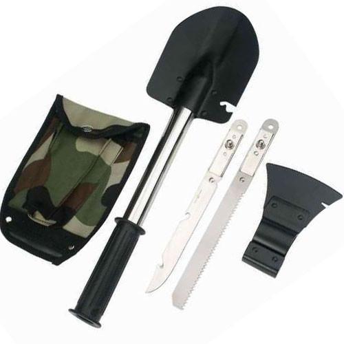 Универсальная туристическая лопата саперка 5 в 1, туристическая саперная лопата, набор туриста/охотника/рыбака -  интернет-магазин «PRIME FOX» в Киеве