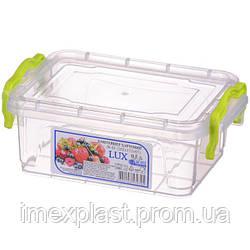 Контейнер пищевой LUX №1 0,5л