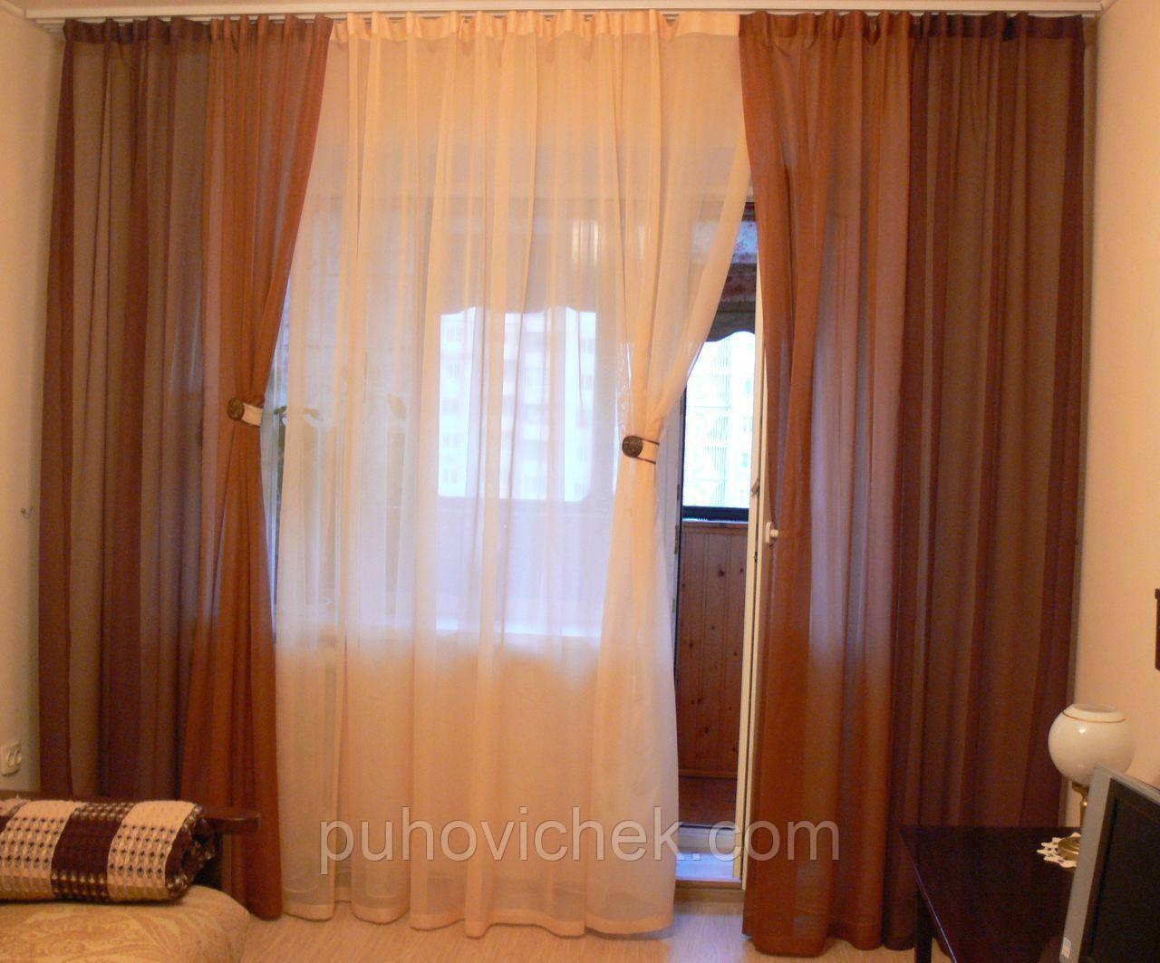 Красивые шторы для гостинной фото