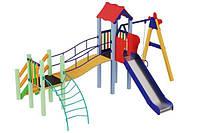 Игровой детский комплекс для улицы Верблюжонок, высота горки 1,2 м ТМ KIDIGO DK02112G
